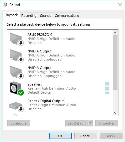 No Sound from External Speakers on a CyberPowerPC Desktop