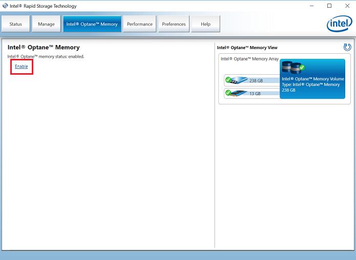 How do I enable Intel Optane? – CyberPowerPC Help Center