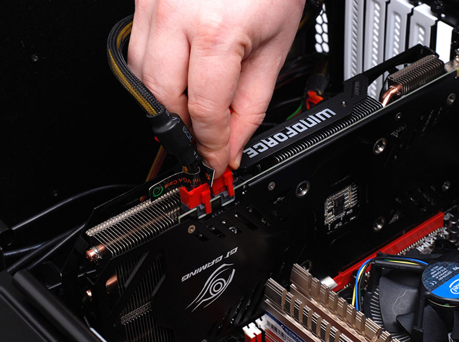Removing your video card and testing onboard graphics